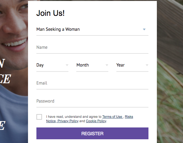 register form AsiaCharm